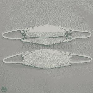 ماسک سه لایه سه بعدی بسته ۲۵ عددی